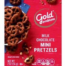 Milk Chocolate Mini Pretzel
