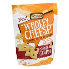 Wholey Cheese Smoked Gouda Mini Cracker