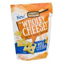 Wholey Cheese Mild Cheddar Cracker