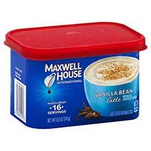 Vanilla Bean Latte Instant Coffee