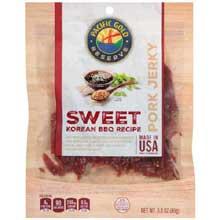Sweet Korean BBQ Recipe Pork Jerky