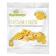 Whole Grain Cheddar Cheese Crispy Cracker