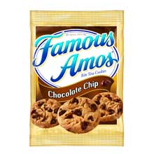 Cookie Keebler Famous Amos Chocolate Chip Single Serve