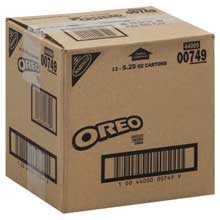 Nabisco Oreo Chocolate Cream Sandwich Cookies 5.25 Ounce