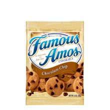 Kelloggs Famous Amos Chocolate Chip Cookies 2 Ounce