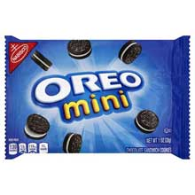 Oreo Mini Chocolate Sandwich 1 Ounce