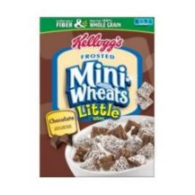 Frosted Mini Wheats Little Bites Chocolate Cereal,15.2 Ounce
