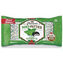 Dark Chocolate Mint Patties Xmas Bagged