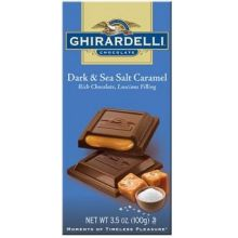 Dark Chocolate & Sea Salt Caramel Bar
