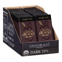 Organic 70 Percent Dark Chocolate Bar