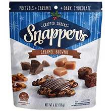 Caramel Brownie Dark Chocolate Snapper Bag