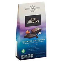 Green and Blacks Assorted Collection Chocolate Pieces