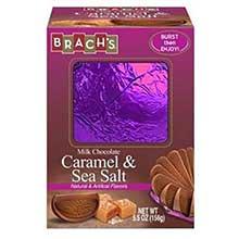Caramel and Sea Salt Milk Chocolate Ball