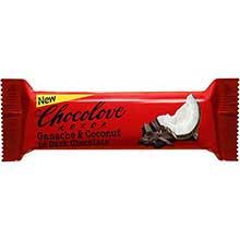 Ganache and Coconut in Dark Chocolate