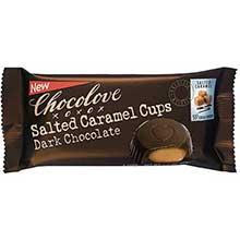 Salted Caramel Dark Chocolate Cup 1.2 Ounce