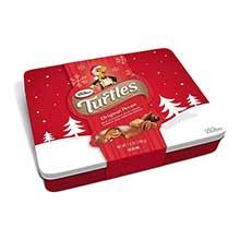 Holiday Original Pecan Caramel Nut Cluster Tin