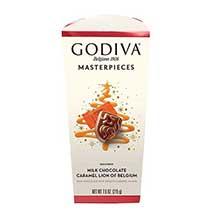 Holiday Masterpiece Caramel Lion Milk Chocolate 7.6 Ounce