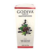 Holiday Masterpiece Mint Medallion Dark Chocolate 7.6 Ounce