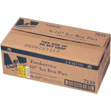 Chef Pierre Lemon Icebox Condensed Pie 10 inch