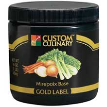 Gold Label Mirepoix Base No Msg Added