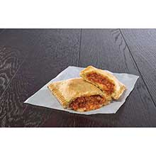 J and J Snack Supreme Stuffers Deluxe Pizza with Serving Sleeve