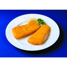 Fish In Batter Wedge Alaska Pollock 4 Ounce of 37 40 Pieces 10 Pound