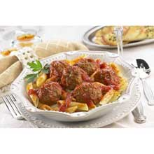 Bella Pork and Beef Meatball 1 Ounce Oven Baked