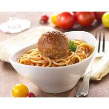 Bella Pork and Beef Meatball 2 Ounce Oven Baked