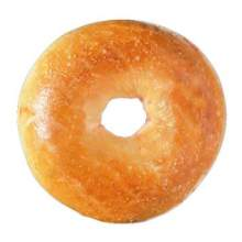 Par Baked Plain Bagel 4 Ounce