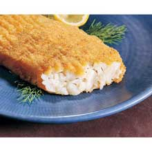 Sea Portions Raw Breaded Square Alaskan Pollock