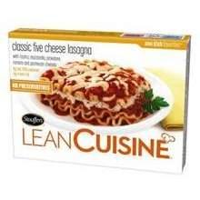 Nestle Stouffers Lean Cuisine Classic Five Cheese Lasagna 11.5 Ounce