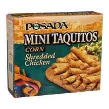 Windsor Jose Ole Mini Shredded Chicken Taquito 4 Pound