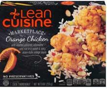 Nestle Stouffers Lean Cuisine Entree Chicken A L Orange 9 Ounce