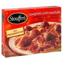 Nestle Stouffers Entree Spaghetti with Meatballs 12.63 Ounce