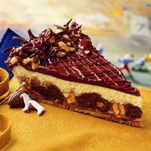 Sweet Street The Big Blitz with Snickers Bar Pie 14 Slice