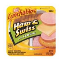 Oscar Mayer Lunchable Ham and Swiss Cheese 4.5 Ounce