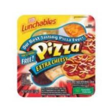 Oscar Mayer Lunchable Extra Cheese Pizza 4.5 Ounce