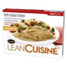 Nestle Stouffers Lean Cuisine Comfort Classics Entree Herb Roasted Chicken 8 Ounce