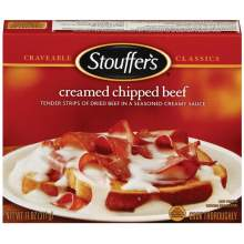 Nestle Stouffers Entree Creamed Chipped Beef 11 Ounce