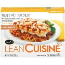 Nestle Stouffers Lean Cuisine One Dish Favorites Entree Lasagna 10.5 Ounce