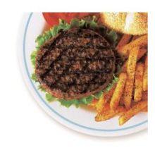 Thick N Juicy Black Angus Chuck Beef Patty Hamburger