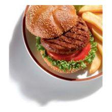 Thick N Juicy Pork Patty Hamburger