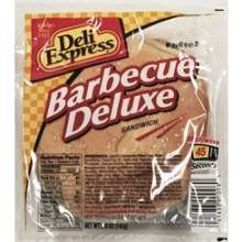 Deli Express Deluxe Barbecue Sandwich 5 Ounce Mfg 757