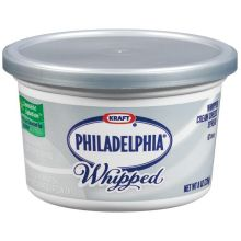 Philadelphia Whipped Plain Cream Cheese Spread 8 Ounce