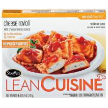 Nestle Stouffers Lean Cuisine Entree Cheese Ravioli 8.5 Ounce