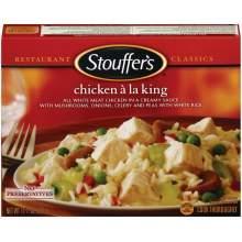 Nestle Stouffers Entree Chicken a La King 11.5 Ounce