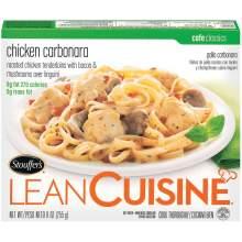 Nestle Stouffers Lean Cuisine Cafe Classics Entree Chicken Carbonara 9 Ounce