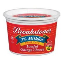 Breakstones Small Curd Cottage Cheese With 2 Percent Milk Fat