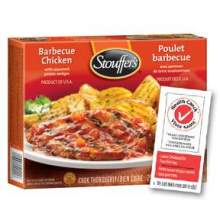 Nestle Stouffers Entree Barbeque Chicken Breast in Sauce 10 Ounce