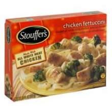 Nestle Stouffers Entree Chicken Fettuccini in Alfredo Sauce 10.5 Ounce